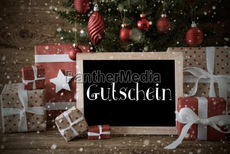 nostalgic, christmas, tree, , snowflakes, , gutschein, means - 19157947