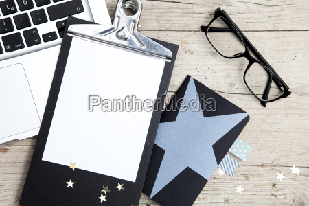 business, office, workplace, with, christmas, decoration - 19160969