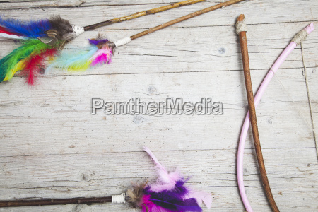 colorful, feathers, background - 19160875