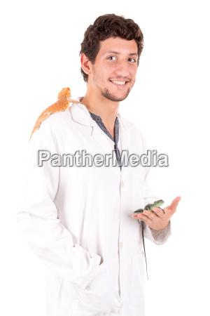 veterinarian, with, animals - 19160859