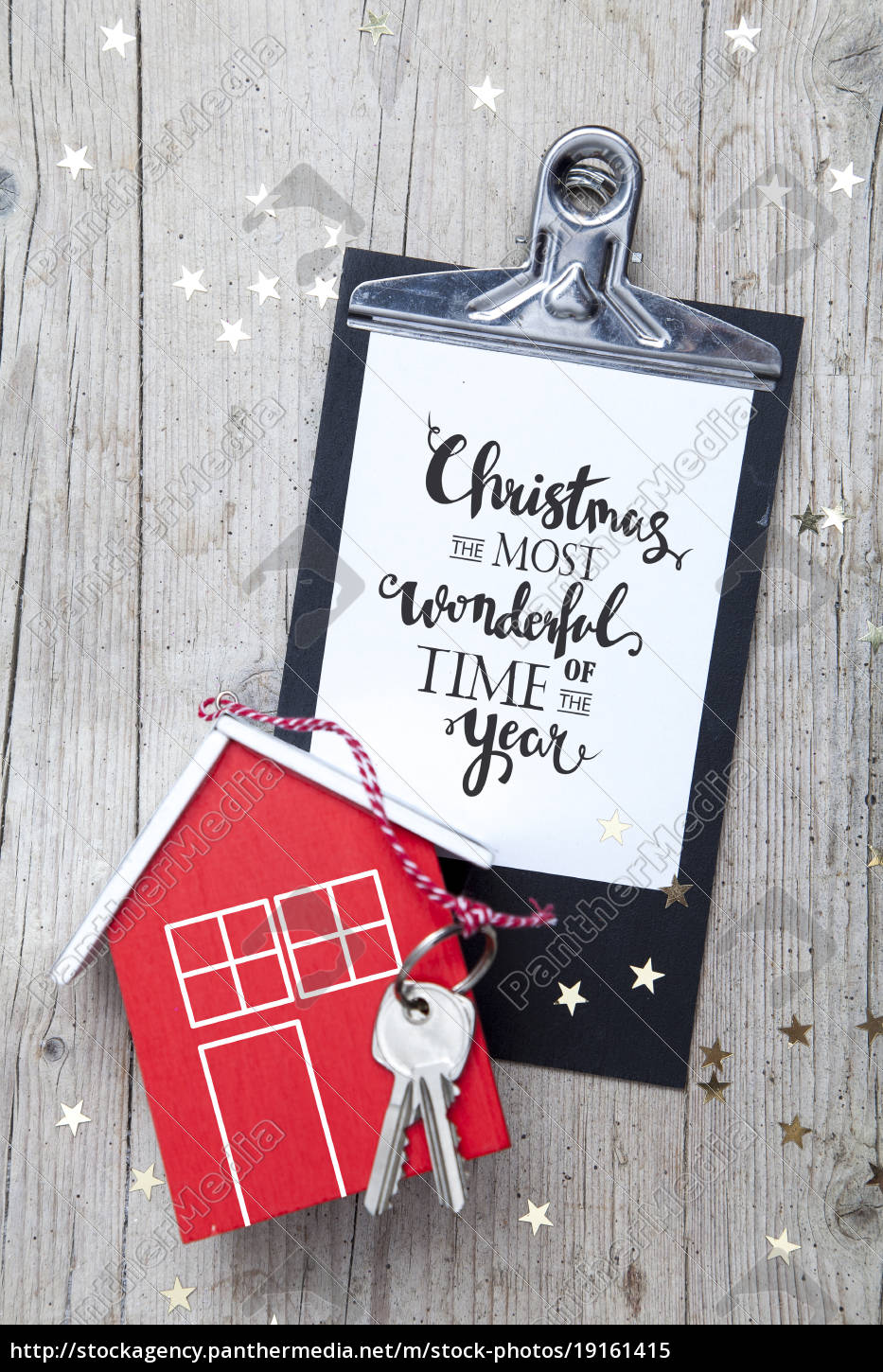 creative, christmas, background, with, a, key - 19161415