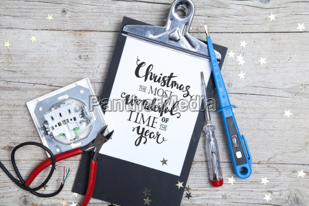 creative, christmas, card, for, at, electrican - 19161025