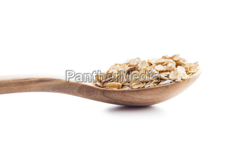 dry, rolled, oatmeal. - 19163681