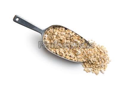 dry, rolled, oatmeal. - 19163695