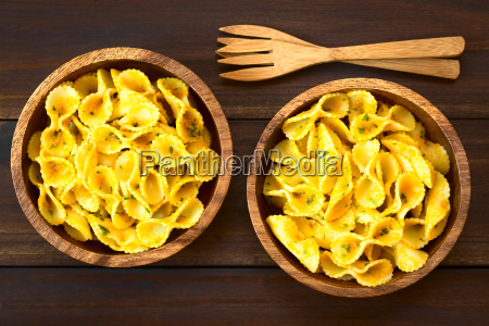 pasta, with, pumpkin, and, parsley, sauce - 19163629