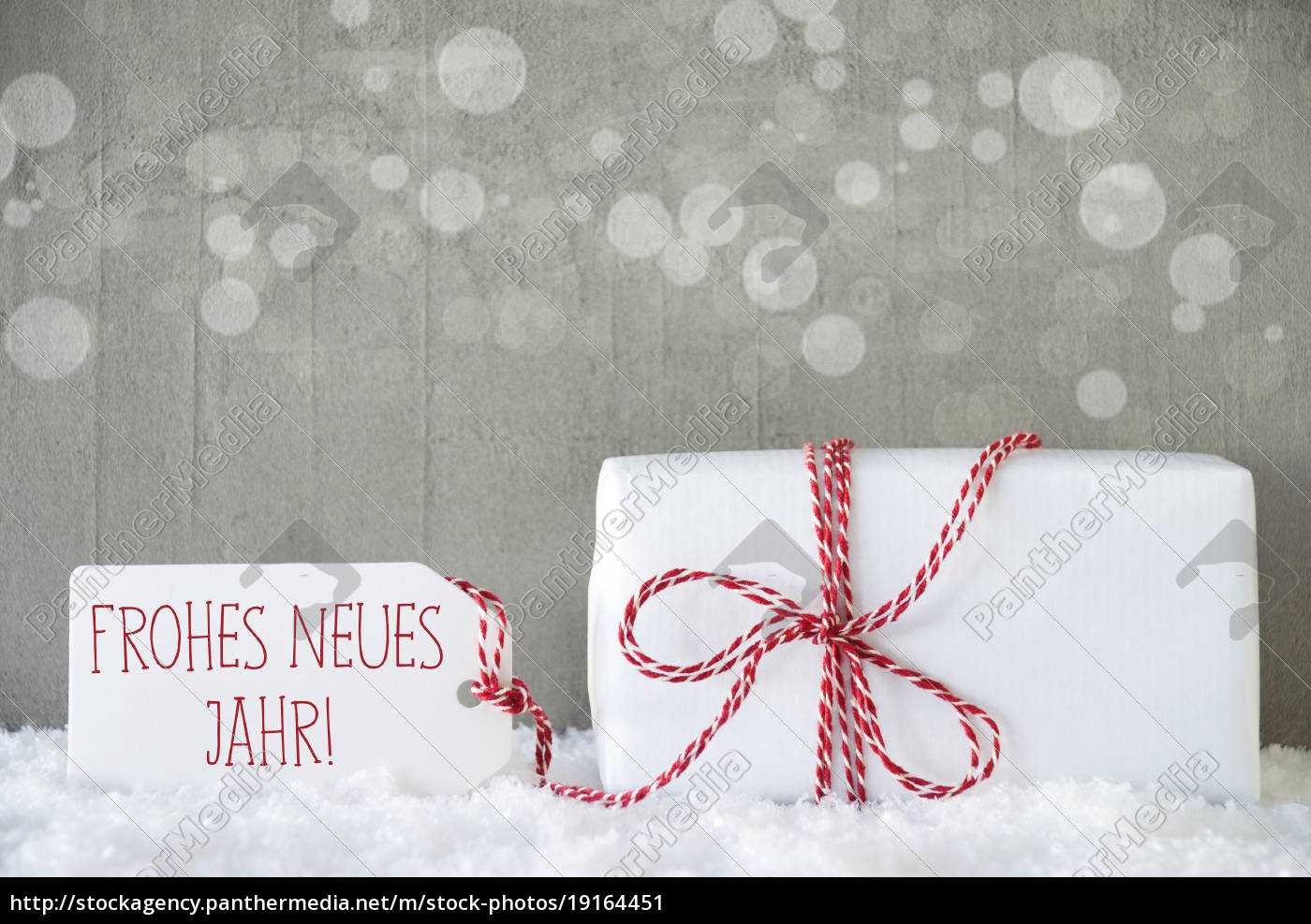 gift, , cement, background, with, bokeh, , neues - 19164451