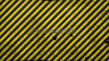 black and yellow diagonal lines