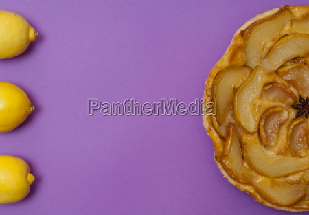 tarte tatin apple pear tart and
