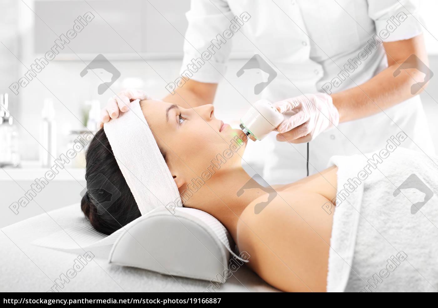 ultrasound, infrared, light, facial, treatment - 19166887