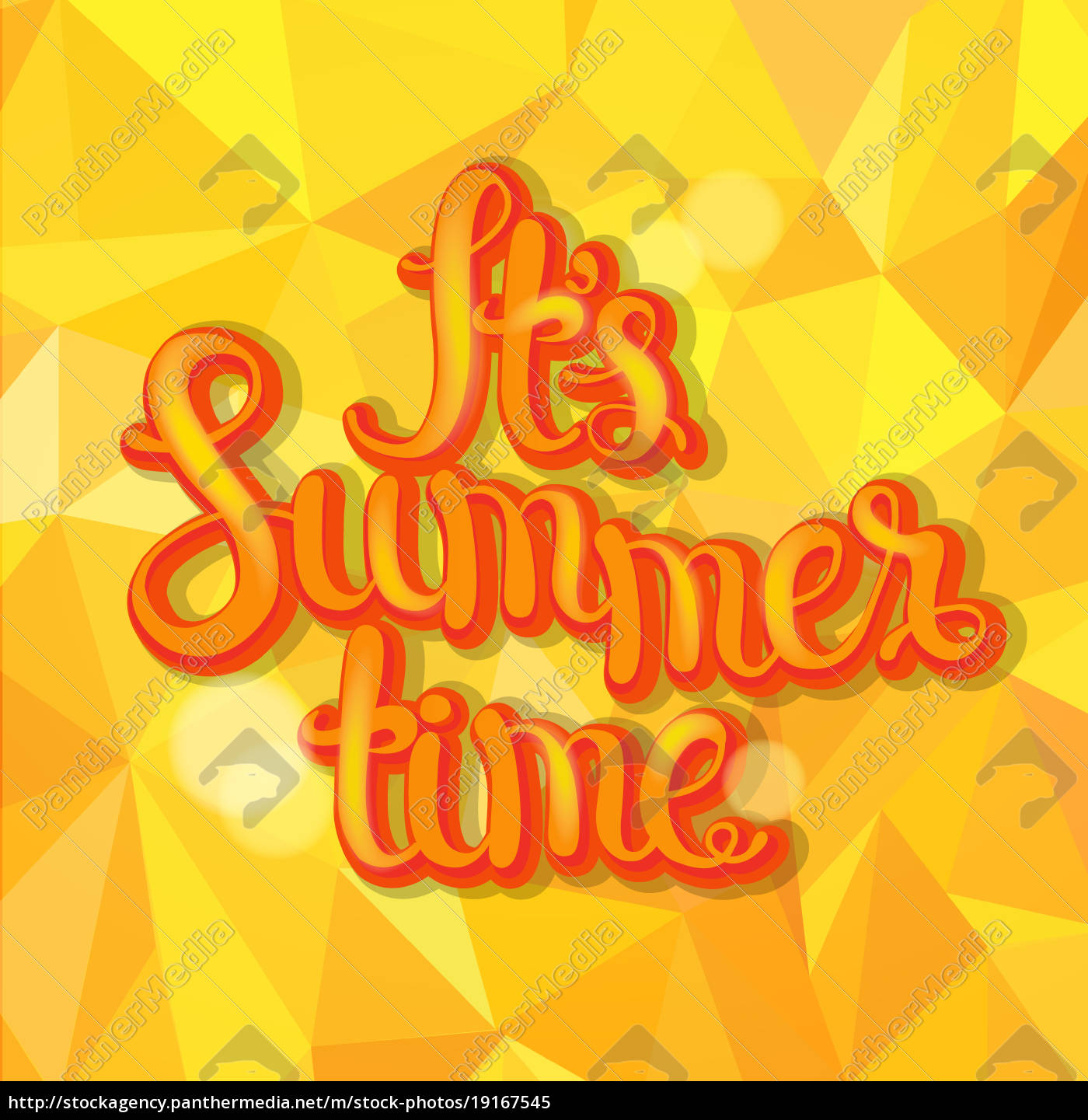 summer, triangle, background. - 19167545