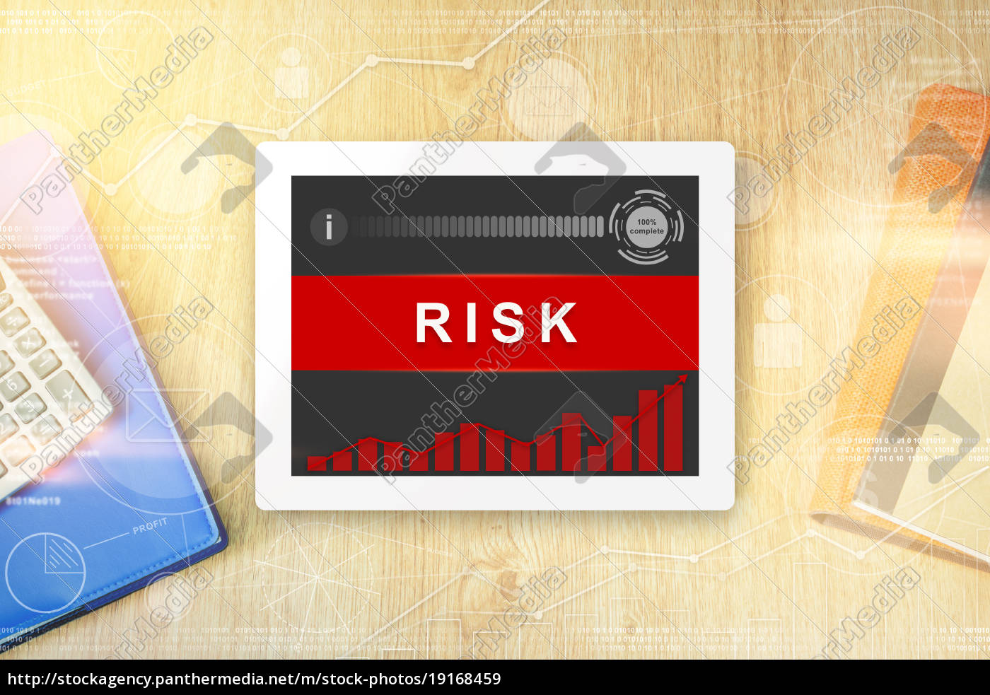 risk, word, on, tablet - 19168459