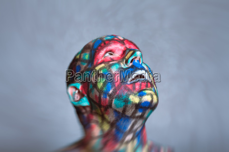 surprised, superhero, colorful, face - 19168237