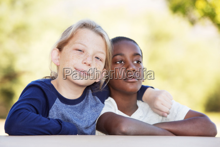 pair, of, adopted, brothers, together - 19169541