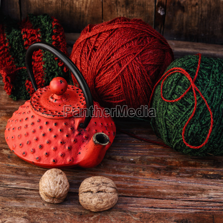 kettle, and, knitting - 19177659