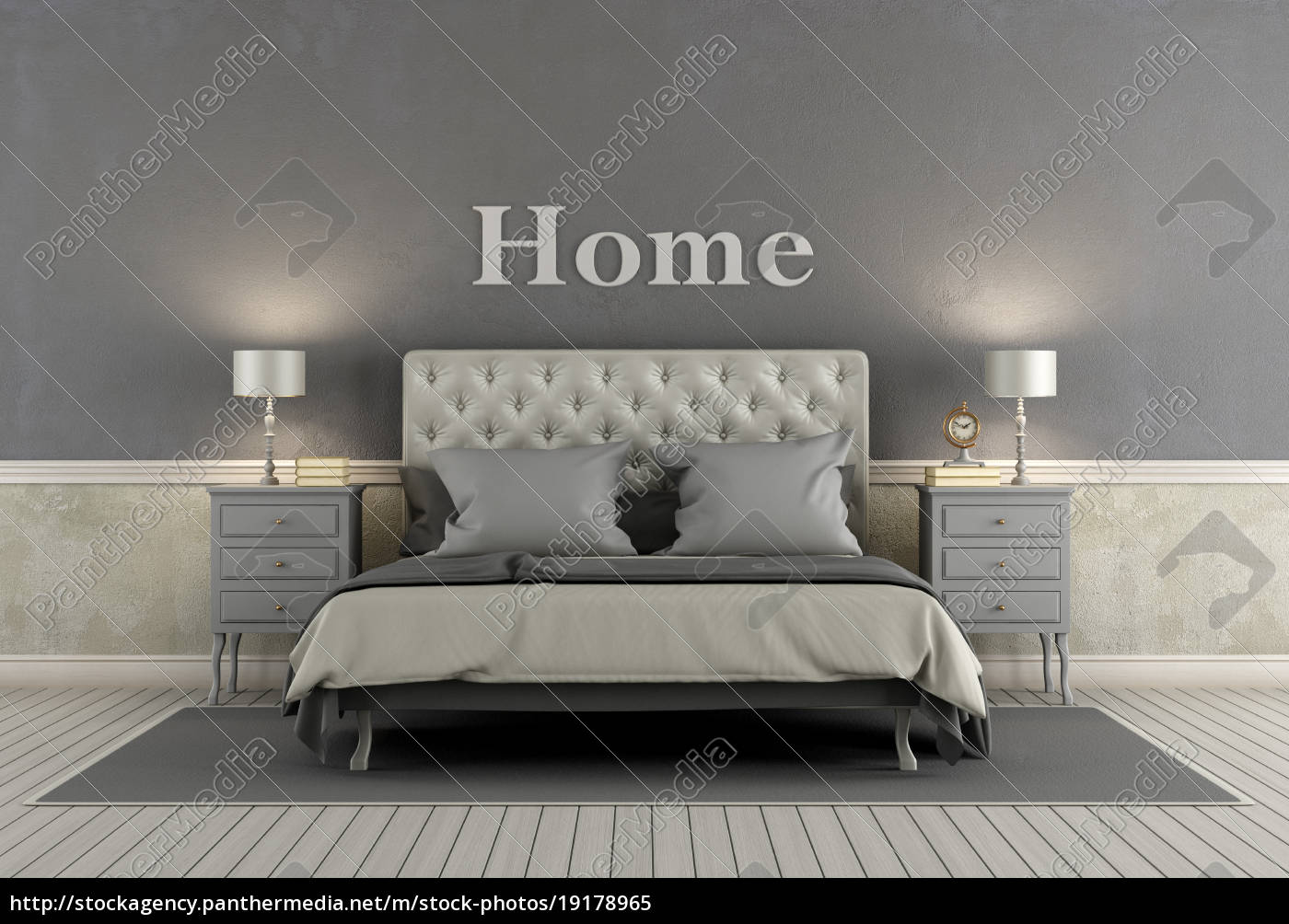 master, bedroom, in, classic, style - 19178965