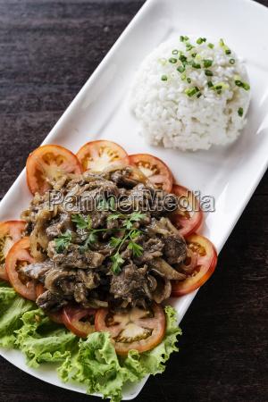 cambodian beef lok lak traditional khmer