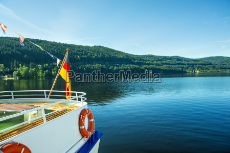 boat trip on the titisee in