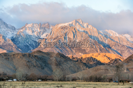 sunrise on mt whitney and the