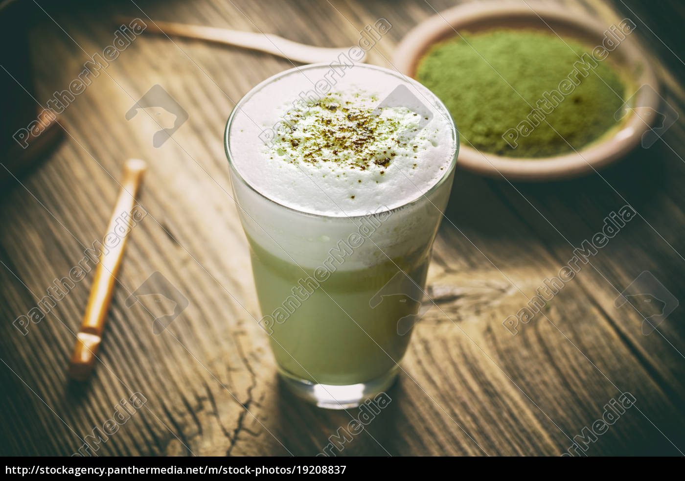 matcha, green, tea, latte - 19208837