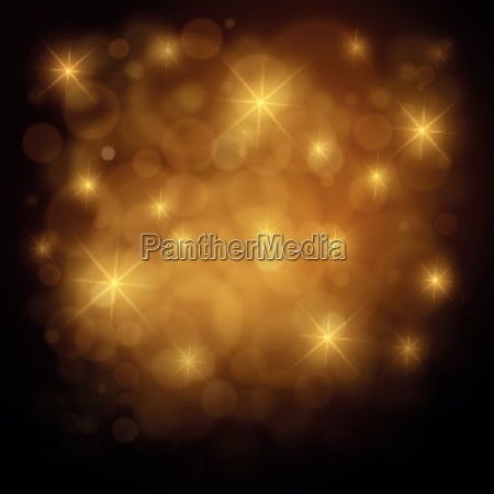 abstract christmas and new year gold