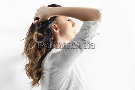 beautiful healthy hair