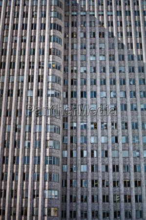 concrete and glass skyscraper