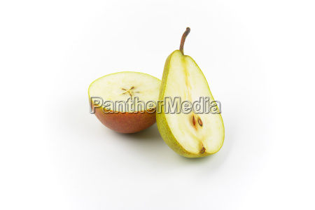 two, halves, of, pear - 19236397