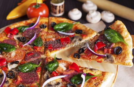 pizza, slice, lift - 19246909