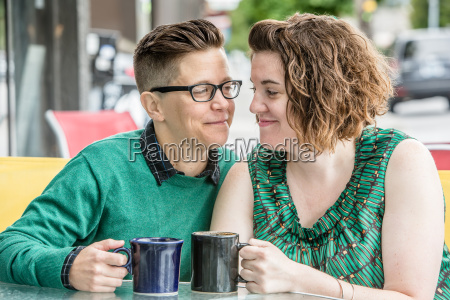 joyful, couple, looking, at, each, other - 19248855