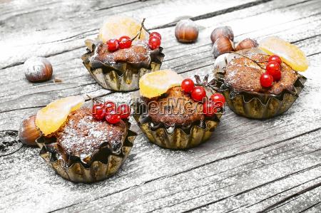 christmas cupcake dessert