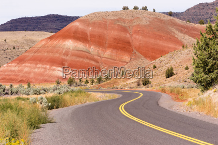 painted, hills, fossil, beds, oregon, state - 19249429
