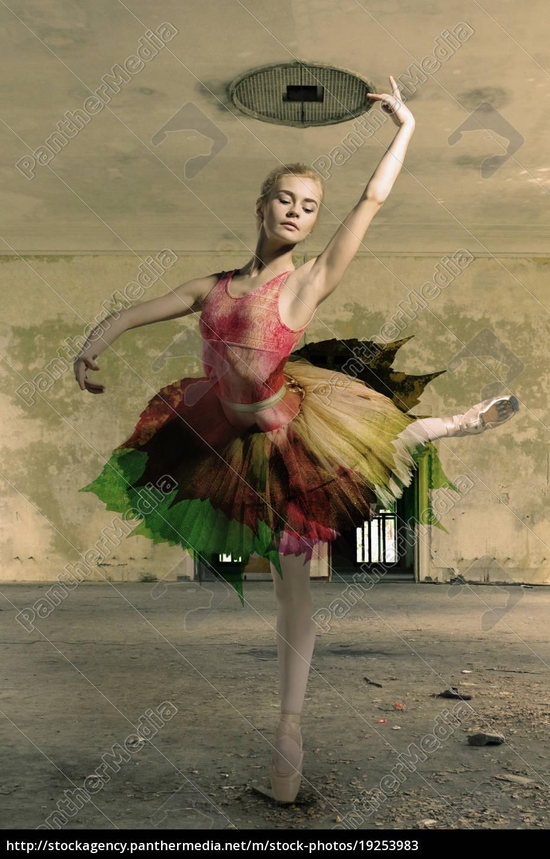 portrait, of, the, ballerina, in, ballet - 19253983