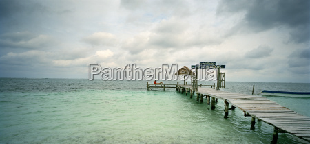 view of a pier with a
