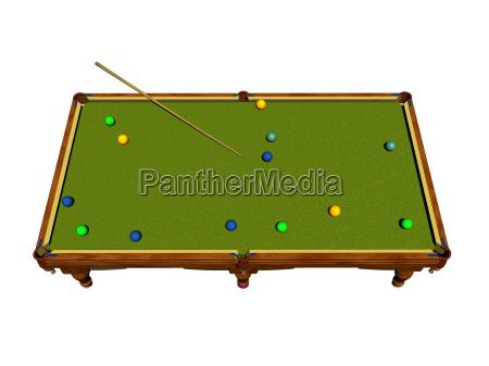 optional pool table