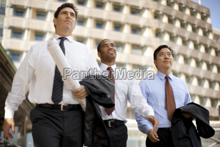 three business colleagues meeting on a