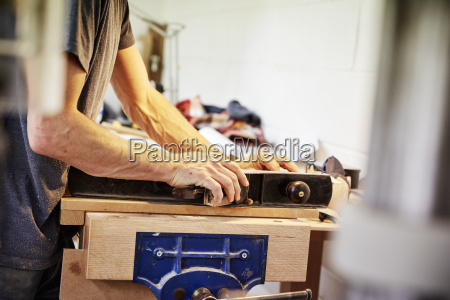 a furniture workshop making bespoke contemporary