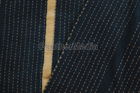 close up of fabric with a