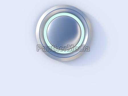 silver colored push button