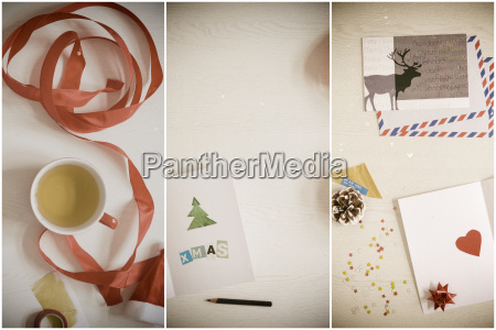 christmas cards writing tinkering