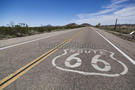 usa california mojave desert view of