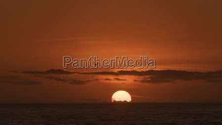 australia new south wales sunset and
