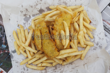 new zealand fish and chips dish