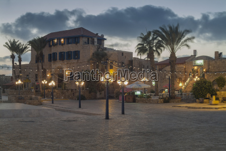 israel jaffa square wit hotel and