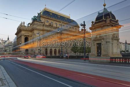 czech republic prague national theatre in