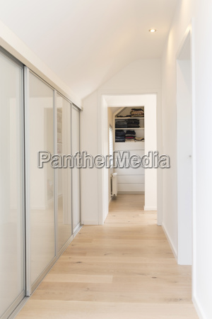 corridor of an apartment with built