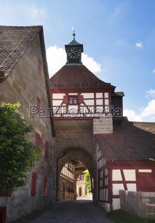 germany bavaria central franconia cadolzburg castle