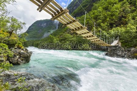 norway sogn og fjordane utla river