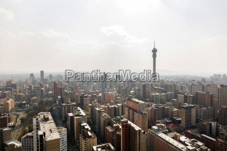south africa johannesburg hillbrow cityscape