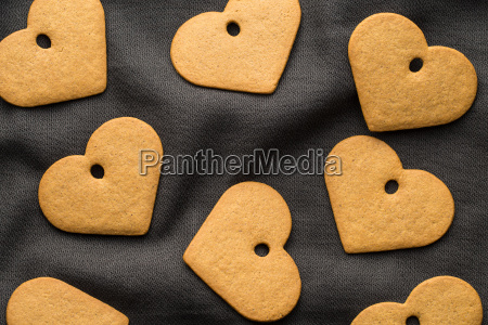 tasty gingerbread hearts