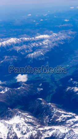 landscape of mountain view from the